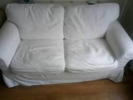 IKEA EKTORP 2seat sofa + TWO COVERS