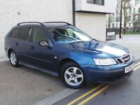 Saab 9-3 1.9 TiD Linear SportWagon 5dr£1,500 p/x to clear 3 MONTHS NATIONWIDE WARRANTY