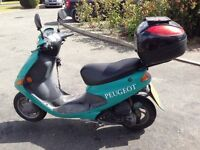 Peugeot zenith m 50cc alarmed, remote start and derestricted