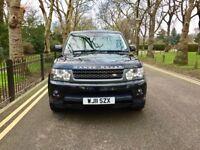 2011 Land Rover Range Rover Sport 3.0 TD V6 HSE 5dr   Hpi Clear   Low Miles   Full service   2 Keys