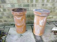 Clay chimney pots/liners