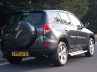 TOYOTA RAV4 2007 XT4 LOW MILEGE 48,000 ONLY LONG M.O.T EXCELLENT CONDITION! FULL LEATHER INTERIOR