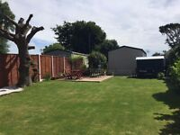 Static Caravan on huge garden plot. only a few years old! Solent Breezes Holiday Park