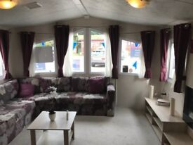SMART 2 BEDROOM STATIC CARAVAN FOR SALE ON CHERRY TREE HOLIDAY PARK NR GREAT YARMOUTH NORFOLK