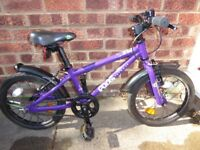 Frog 48 Bike in Purple colour for 4-5 year olds