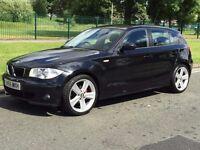 BMW 1 SERIES 2.0 120i SE 5dr, 73k miles, 05 reg