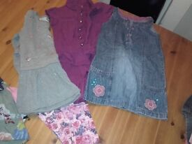 15 items Girls clothes ages 6-7 years 4 photos £10