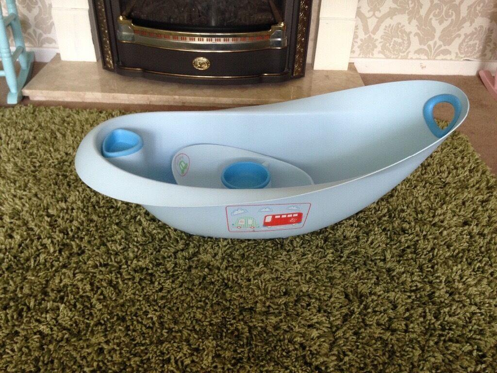 Mothercare blue baby bath | in Nelson, Merthyr Tydfil | Gumtree