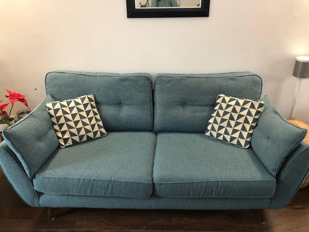3 Seater Sofa For Dfs French