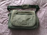 Changing bag grey, shoulder bag