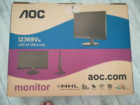 "AOC 69V series I2369VM 23"" Widescreen LED Monitor"