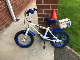 "Fantastic condition 14"" Apollo Police Patrol bike, suit 4 years +"
