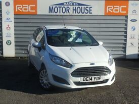 Ford Fiesta STYLE (£30.00 ROAD TAX) FREE MOT'S AS LONG AS YOU OWN THE CAR!! (white) 2014