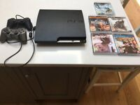 PS3 Bundle with 5 Games