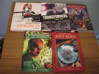 5x Graphic Novels