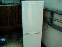 Fridge master fridge freezer,white,5ft tall 3 draw freezer storage,gwo,can deliver