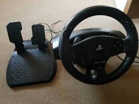 Playstation Thrustmaster T80 Racing wheel