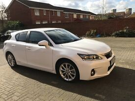 Lexus luxurious car CT200 2013 very low mileage in fabulous condition want quick sale only 10,150