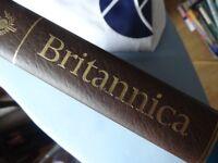 Encyclopedia Britannica books full set Encyclopaedia