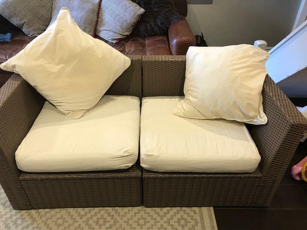 Ikea rattan arholma outdoor sofa