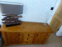 Next Sideboard , storage unit, mirror and shelf unit