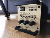 SPL Gain Station Analogue Solid State/Tube Mic Preamp with Carrying Case BARGAIN!