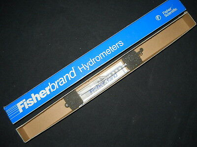 Fisherbrand 1.480 To 1.550 Specific Gravity Hydrometer 11-556p
