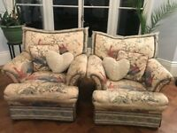 2 lovely armchairs