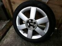 """Audi A2 16"""" SE 6 Spoke Alloy Wheel"""