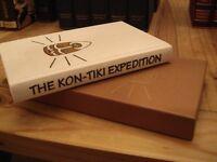 Folio Society Book - The Kon-Tiki Expedition
