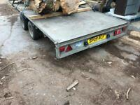 Ifor William's 14 foot trailer