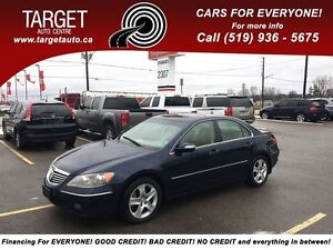 2005 Acura RL One Owner, Dealer Serviced, AWD, Fully Loaded;Leat