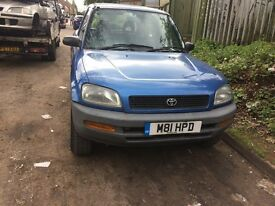 1994 Toyota Rav 2.0 GX Auto Estate Petrol 2L Blue BREAKING FOR SPARES
