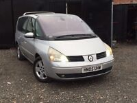 ★ 2005 RENAULT GRAND ESPACE 2.2 DCi PRIVILAGE + 7 SEATER + 12 MONTHS MOT ★