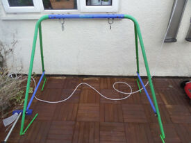 Kids swing frame