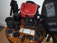 Canon EOS 650d slr kit open to offers