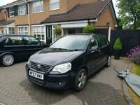 Vw polo 1.4 auto damaged