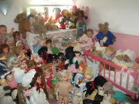 antique vintage dolls and bears