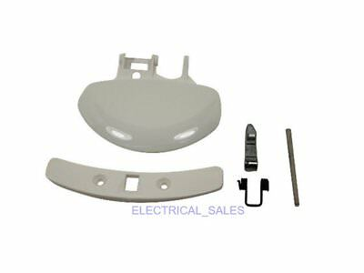ELECTROLUX AEG ZANUSSI WASHING MACHINE WHITE DOOR HANDLE KIT 50276646002 GENUINE for sale  Shipping to United States