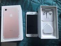 Apple iPhone 7 Rose Gold 32GB Brand New