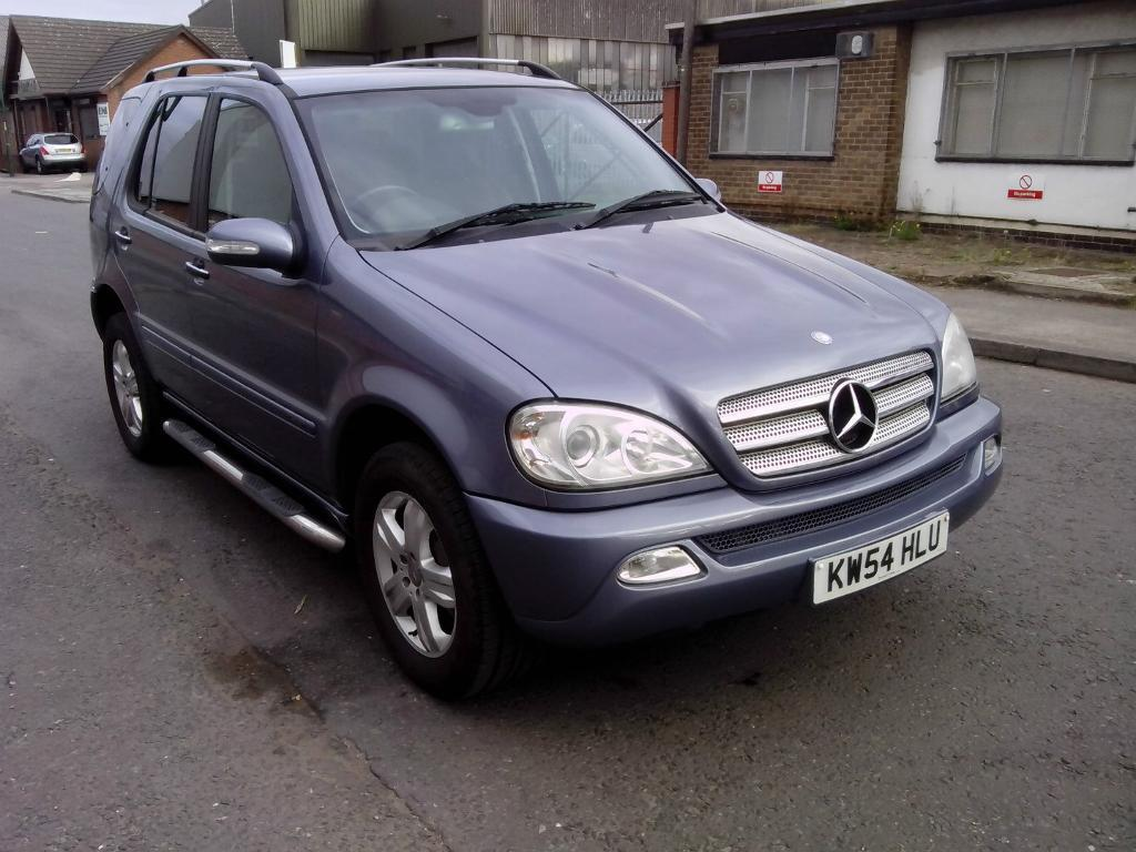 2005 Mercedes Ml 270 Cdi Auto Diesel Blue 4x4 Special Edition