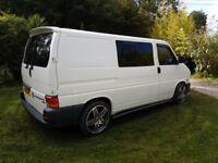 VW T4 2.5 89k 2 berth camper