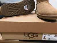 UGG boots for sale never used-size 4.5 (37-38) price £80.00 more info priv (RP 140.00)