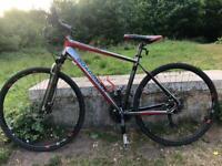 Boardman x7 hybrid comp mountain bike