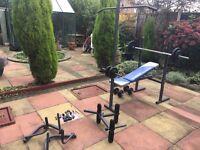 YORK multi gym weight workout bench 100% working