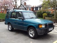 landrover low mileage 300tdi discovery