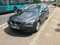 BMW 530d auto estate, FSH, xenon lights, remapped to 300bhp , LCI face lift model, leather seats