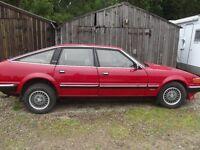 Rover SDI 2600 Van den Plas automatic 1984 low mileage