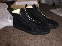 Brand new Size 11/10 Christian Louboutin high top trainers