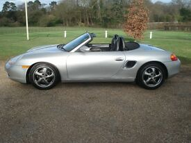 Porsche Boxster 986 Automatic, 2.7 tip tronic, Recent Major service, MOT till March 2018, HPI clear